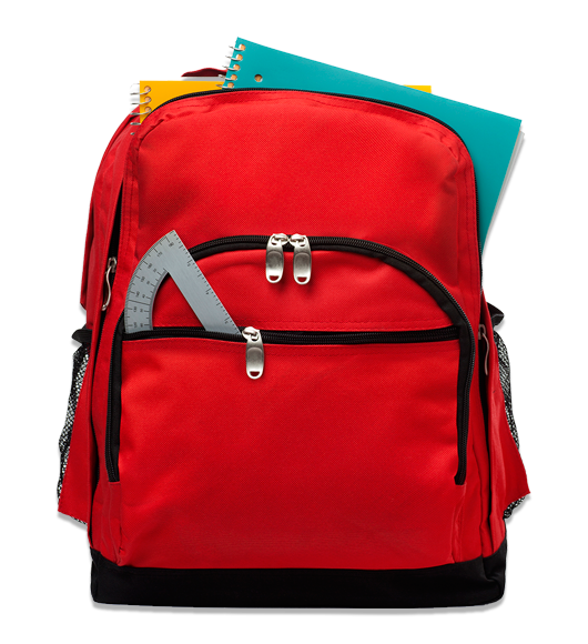 picture royalty free stock St paul s episcopal. Bookbag clipart blessing backpack