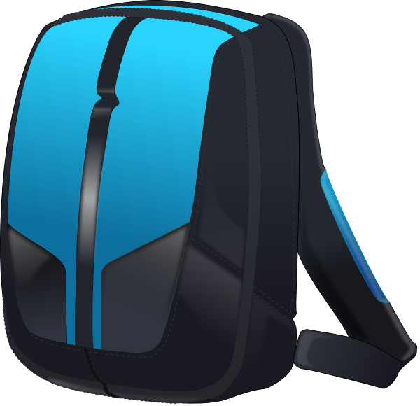 image download Clip art at clker. Bookbag clipart empty backpack.