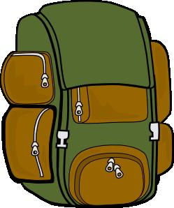 vector free library Knapsack panda free images. Bookbag clipart empty backpack