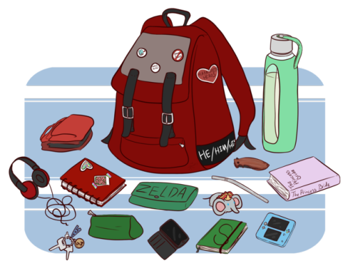 png library stock backpack with badges