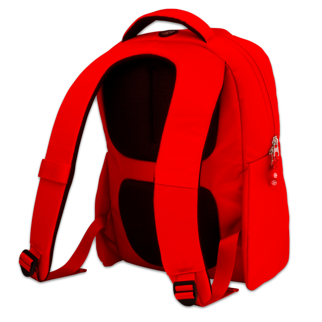 clip free library Bookbag clipart heavy. Red backpack png image