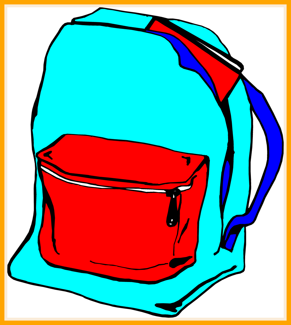 svg free library Object free for download. Bookbag clipart junior school