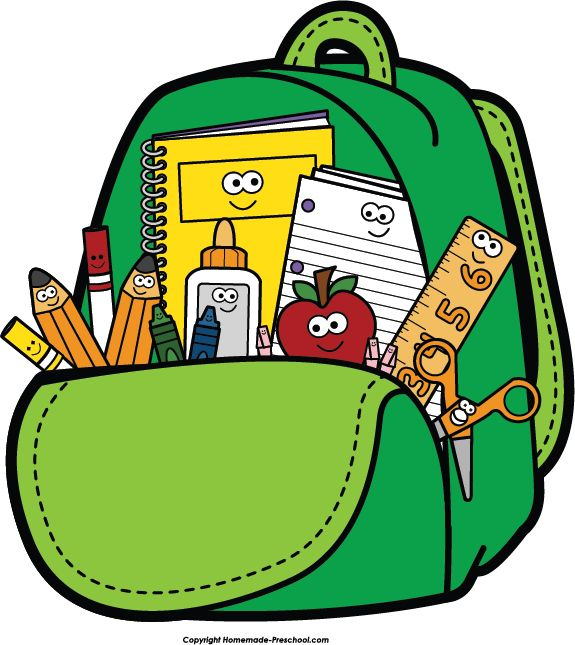png royalty free library Bookbag clipart sschool. School transparent free for