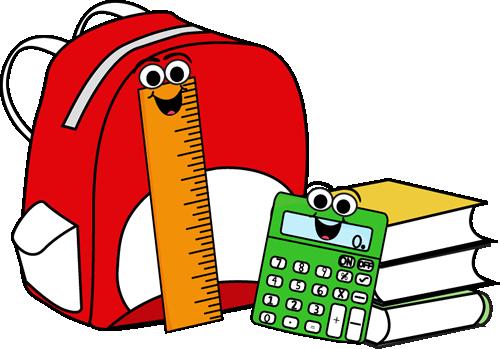 clipart Bookbag clipart sschool. School backpack panda free.