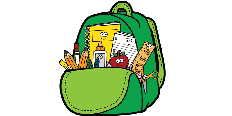 picture royalty free Bookbag clipart sschool. School free for download
