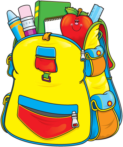 clip art royalty free stock Free book bag download. Bookbag clipart sschool