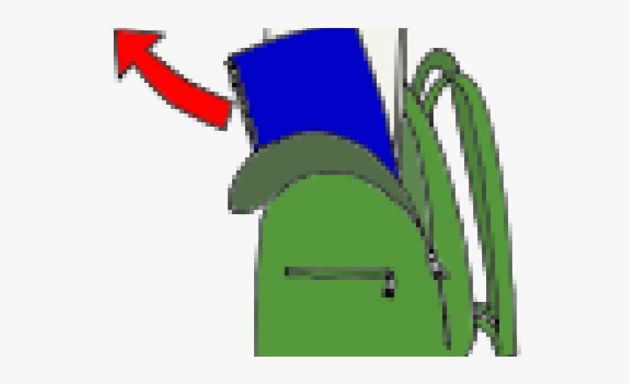 clip art library download Bookbag clipart unzipped. Backpack unzip free cliparts
