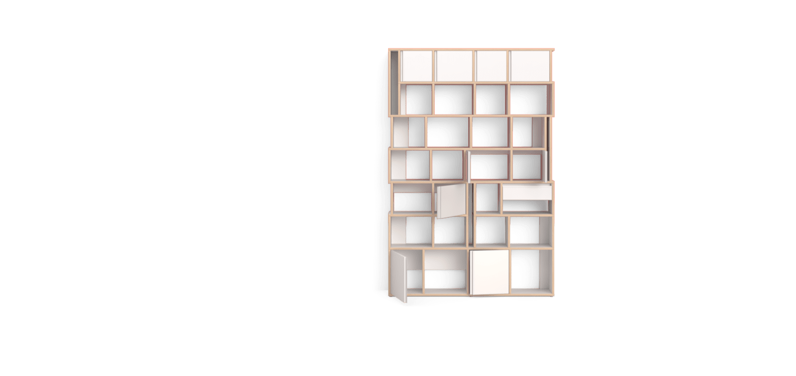 vector library download bookcase drawing build in #90694046