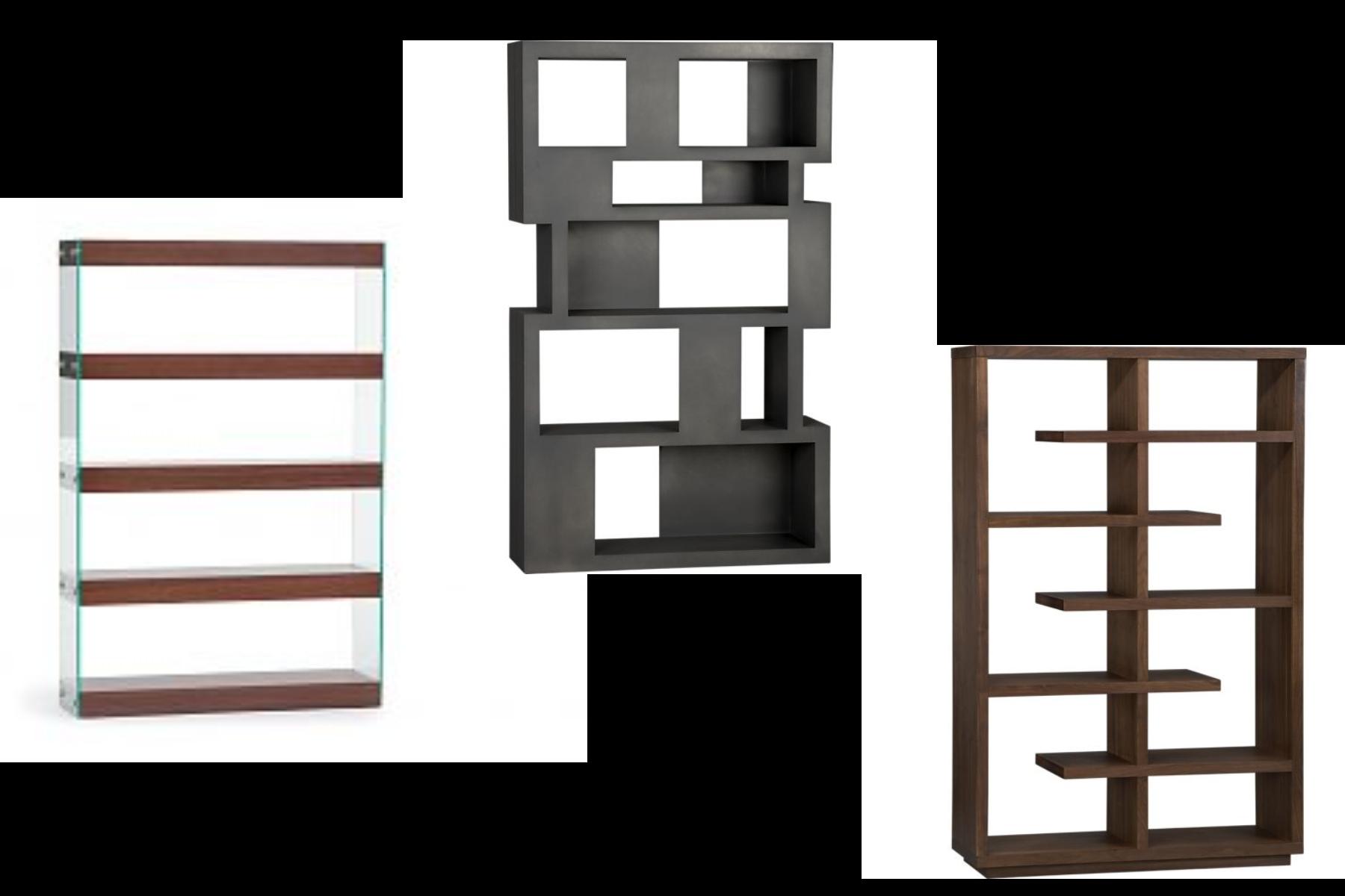 clip freeuse stock bookshelf design small space