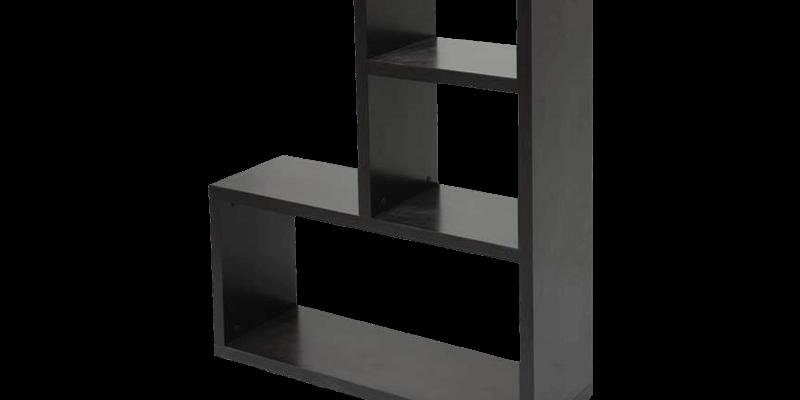 clip stock Modern Black L Shaped BookShelf