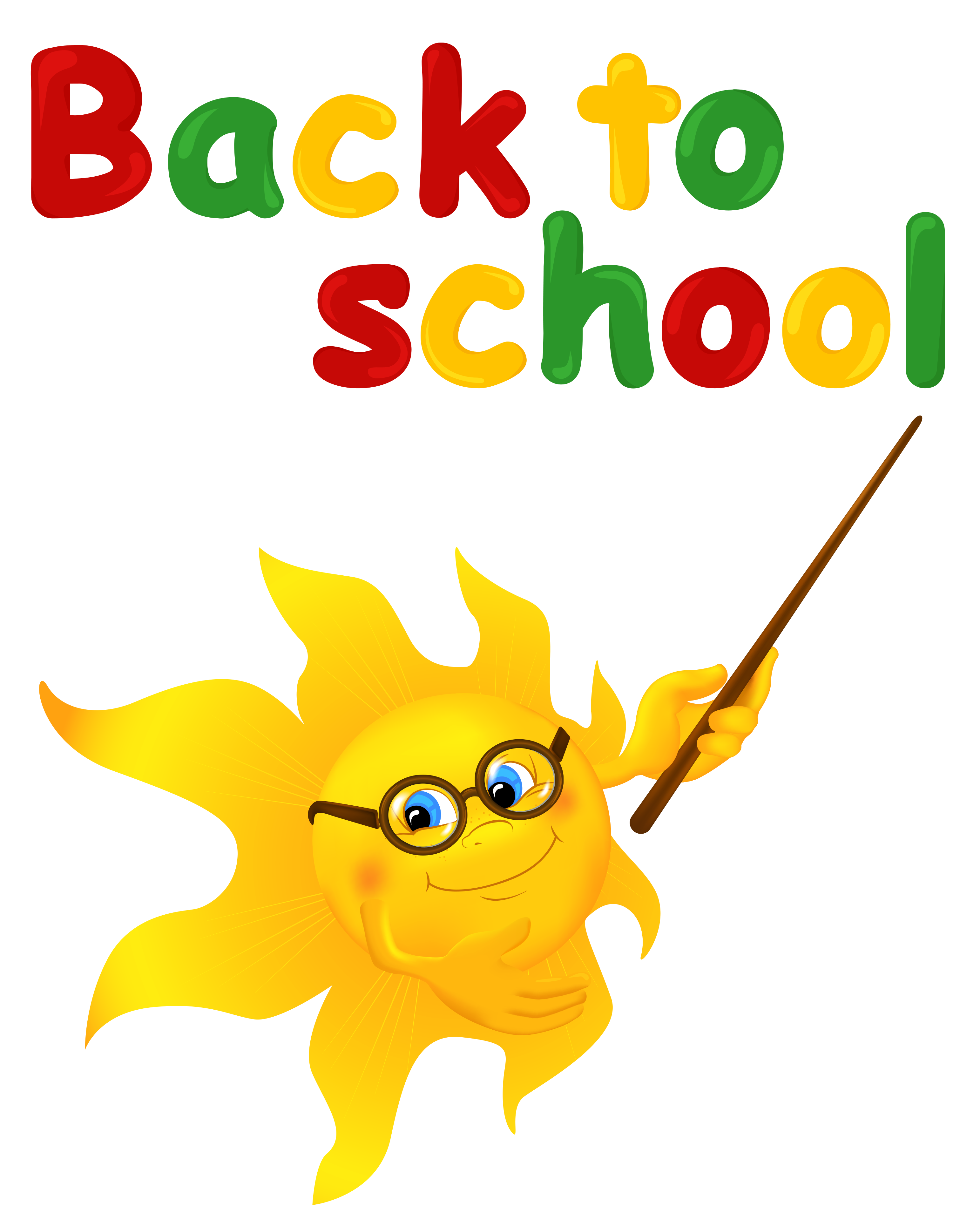 image library library Books clipart sun. Back to school with.
