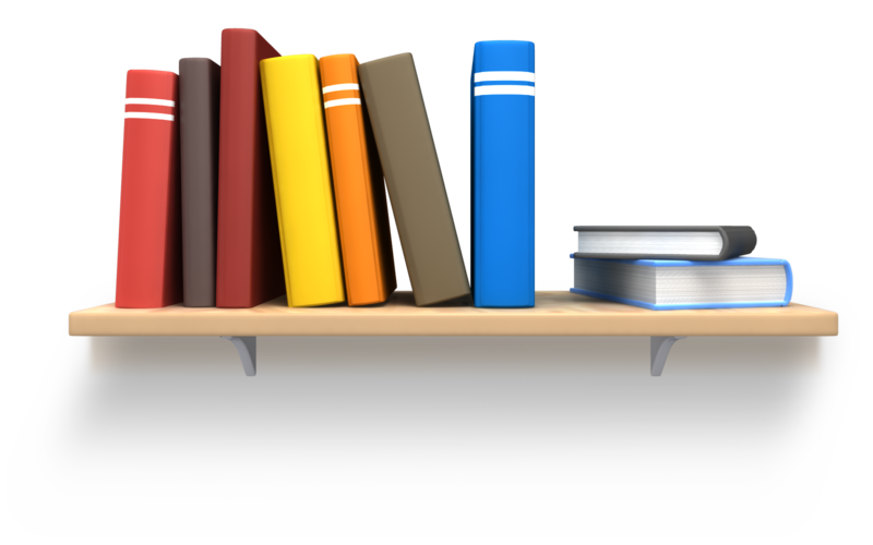 banner library download With books png sitez. Bookshelf vector book rack
