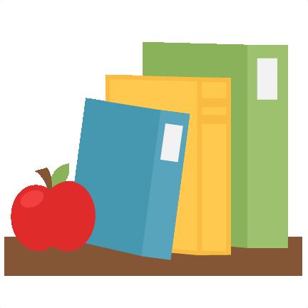 clip royalty free stock Books svg. On shelf scrapbook school