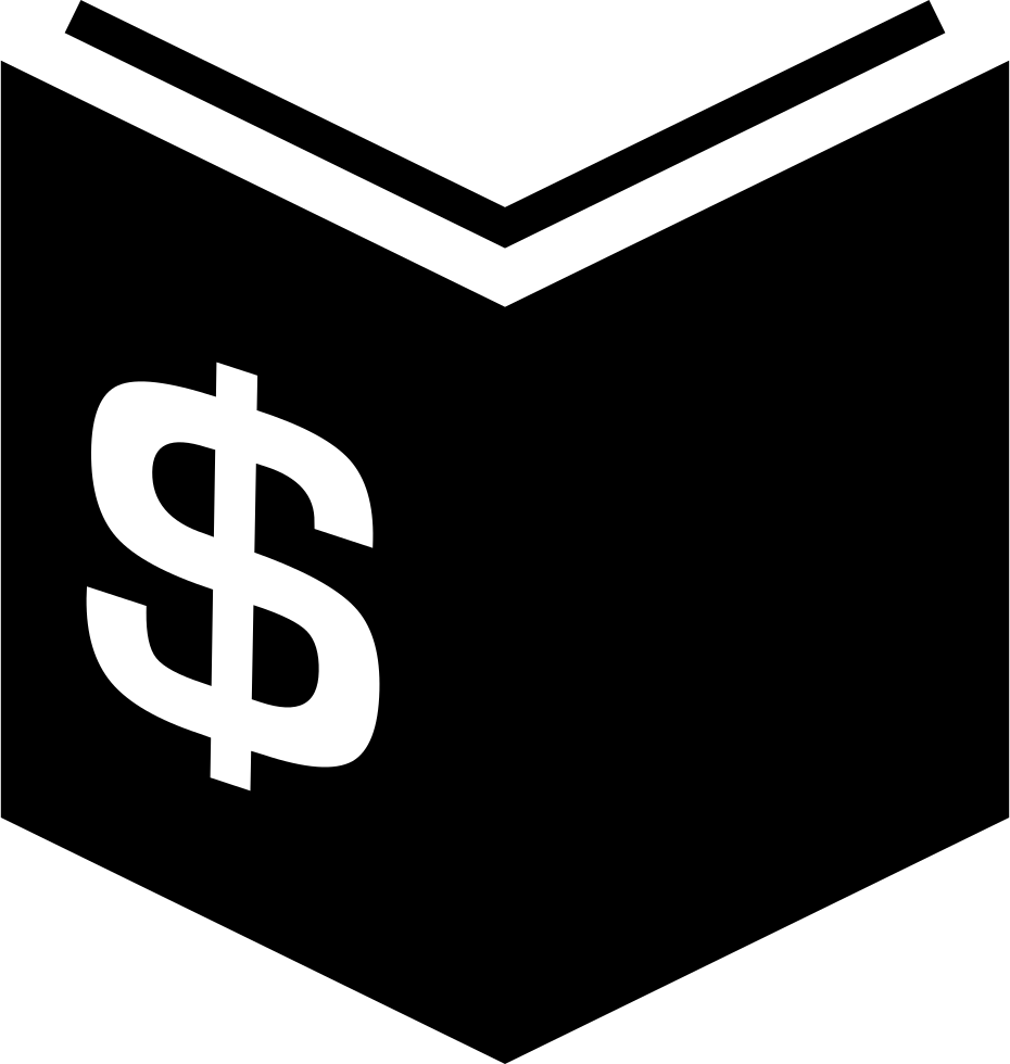 clip art free stock Books svg bitmap. Book of economy with