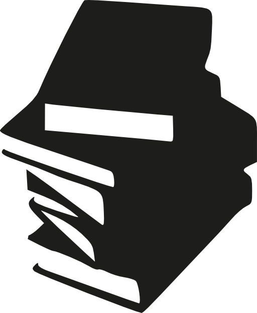 svg black and white Stack of clipart i. Books svg free