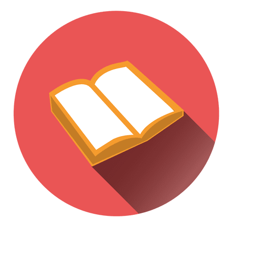 image royalty free Vector books png format. Open book round icon