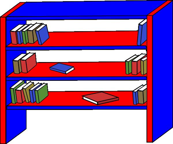 picture transparent stock Bookshelf clipart. Clip art at clker.