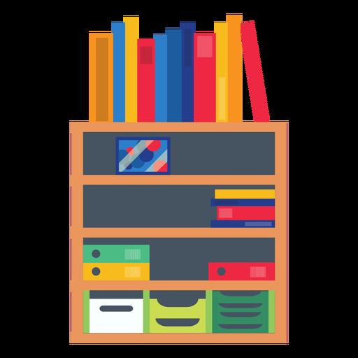 clip freeuse library Office shelf transparent png. Bookshelf clipart