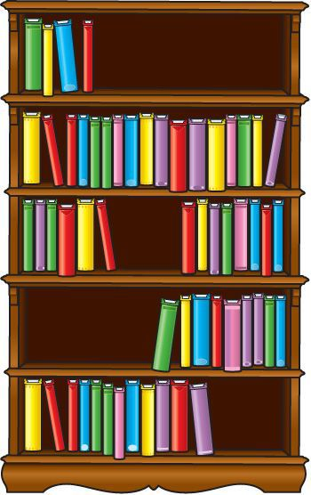 banner free Transparent free for download. Bookshelf clipart.