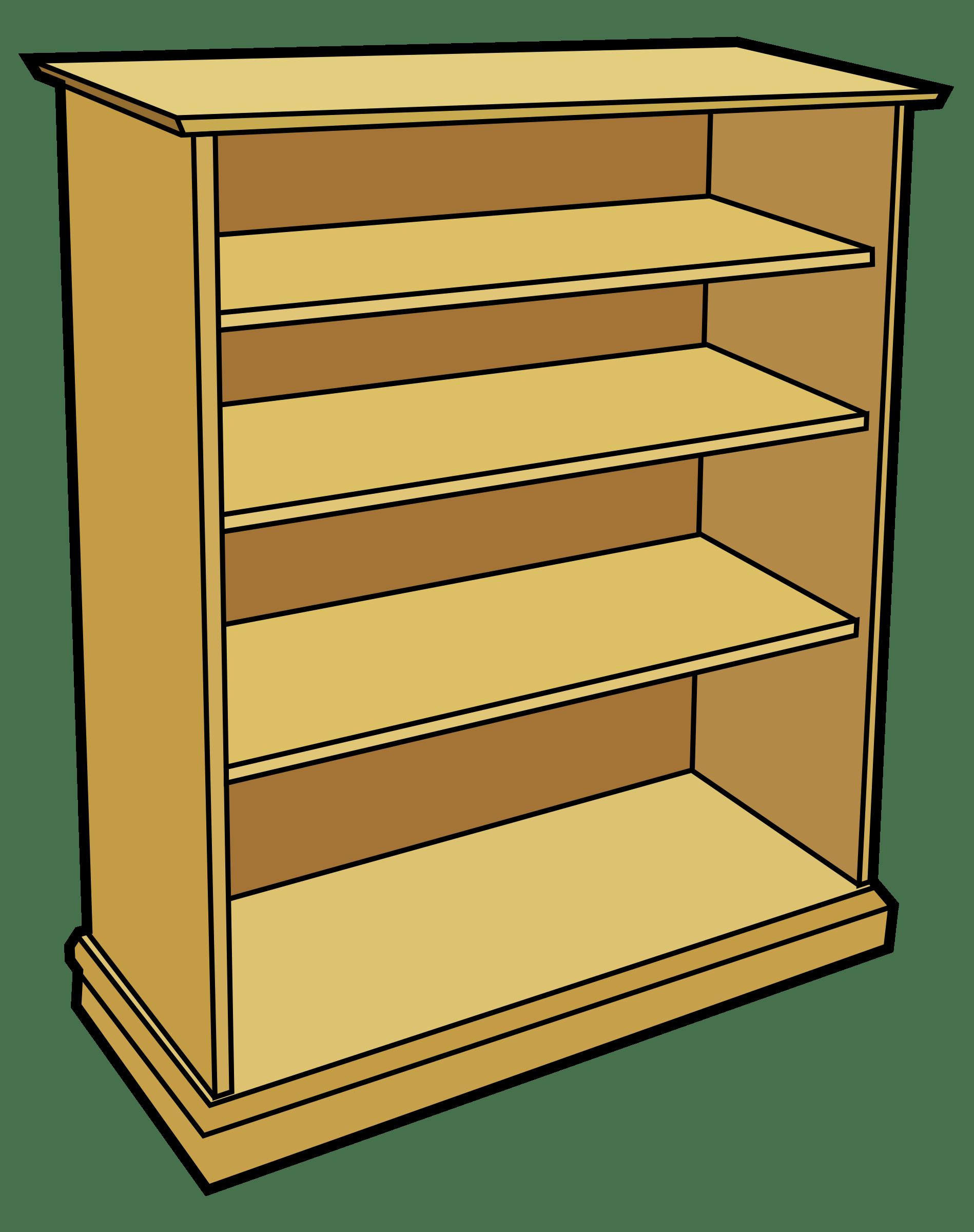 svg transparent stock Bookshelf clipart. Bookcase wooden furniture pencil.