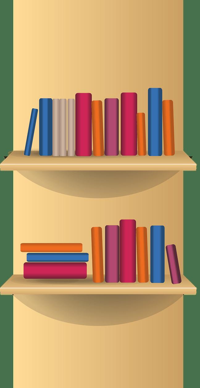 png library Bookshelf clipart. Shelf school furniture pencil.