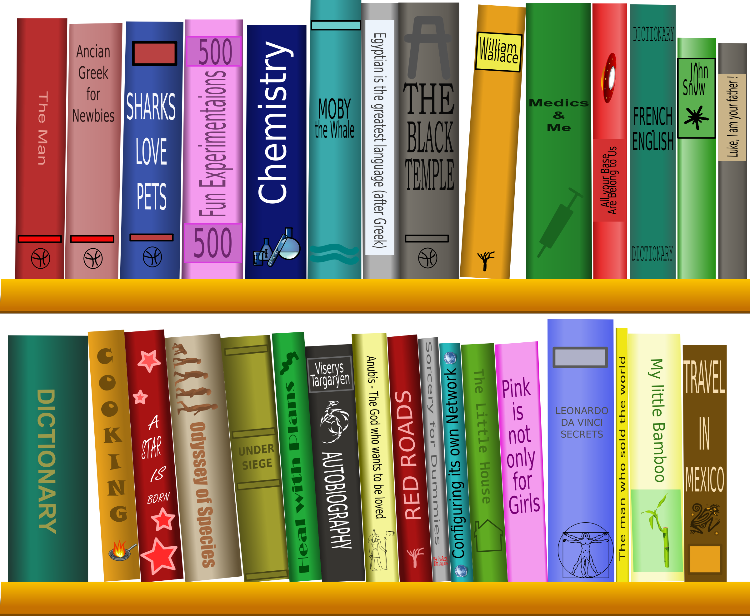 graphic library download Librarian clipart book case. Shelf little free on.