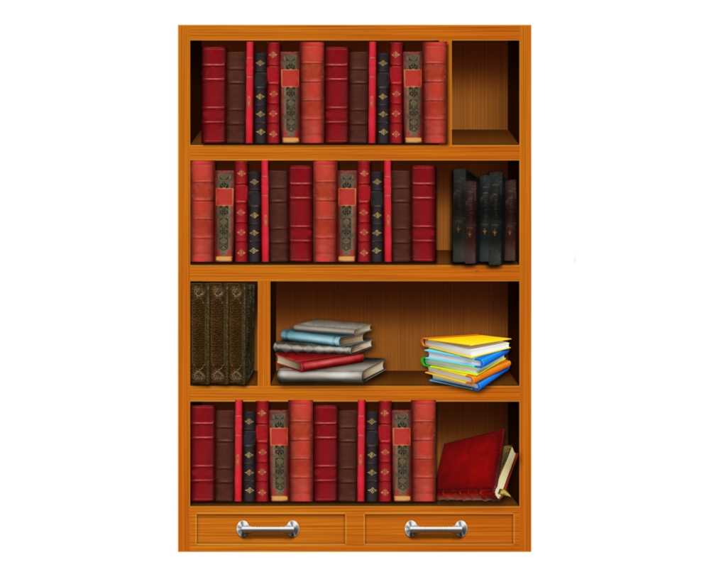 picture free library Bookshelf clipart arranged. Homeschool provision clears school