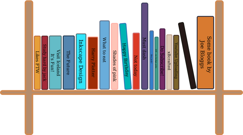 image black and white  collection of books. Bookshelf clipart bibliotheque