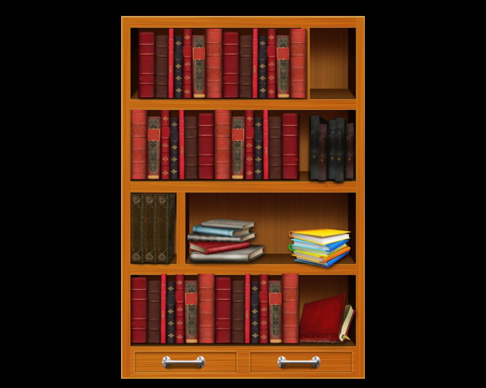 freeuse library Bookshelf clipart bibliotheque. Bookshelves books wallpapers kbytes