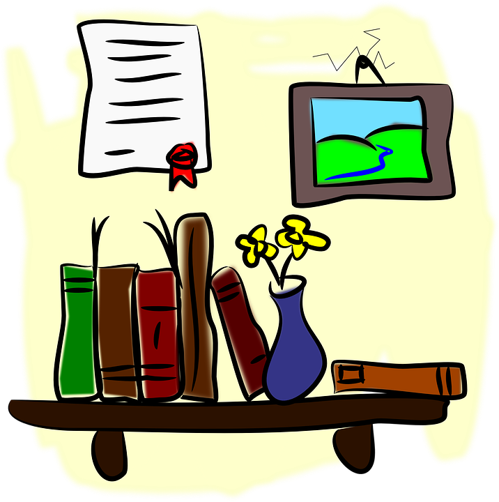 clipart library library Bookshelf clipart middle school. Media center musings detail