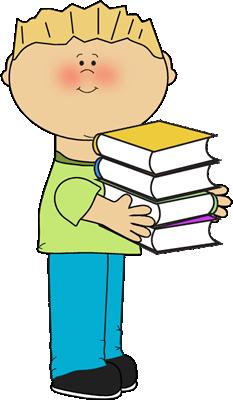 clipart free stock Bookshelf clipart middle school. Book clip art images.