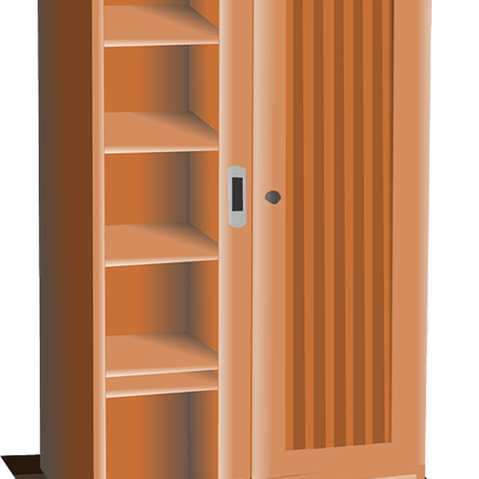 clipart library shelf clipart plywood #48444814