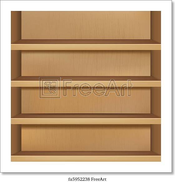picture free Free art print of. Bookshelf vector cupboard