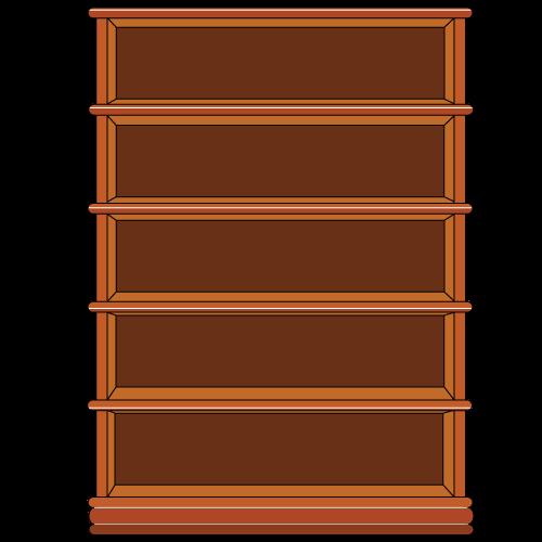 banner freeuse library Bookshelf vector empty. By mahuasarkar on deviantart