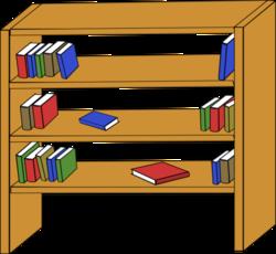 transparent stock Bookshelf vector empty. Free psd files vectors