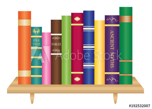 clipart free download Bookshelf vector old. Wooden book shelf with