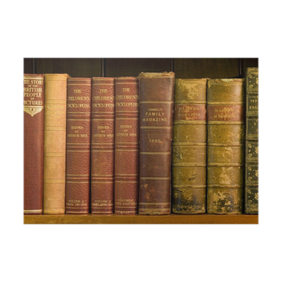 vector royalty free download Lots of books on. Bookshelf vector old