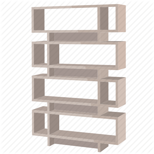 graphic royalty free Bookcase wardrobe by david. Bookshelf vector paper book