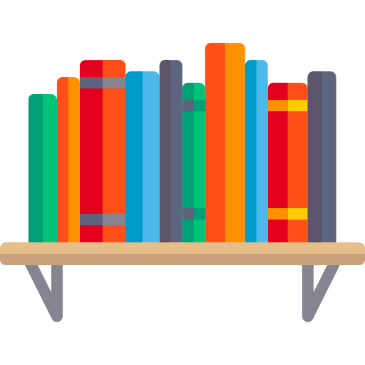 graphic free download Free education icons icon. Bookshelf vector transparent