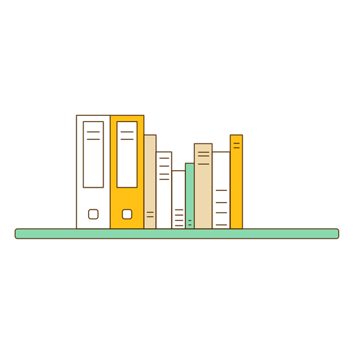 banner transparent download Bookshelf vector transparent. Office wall icon png