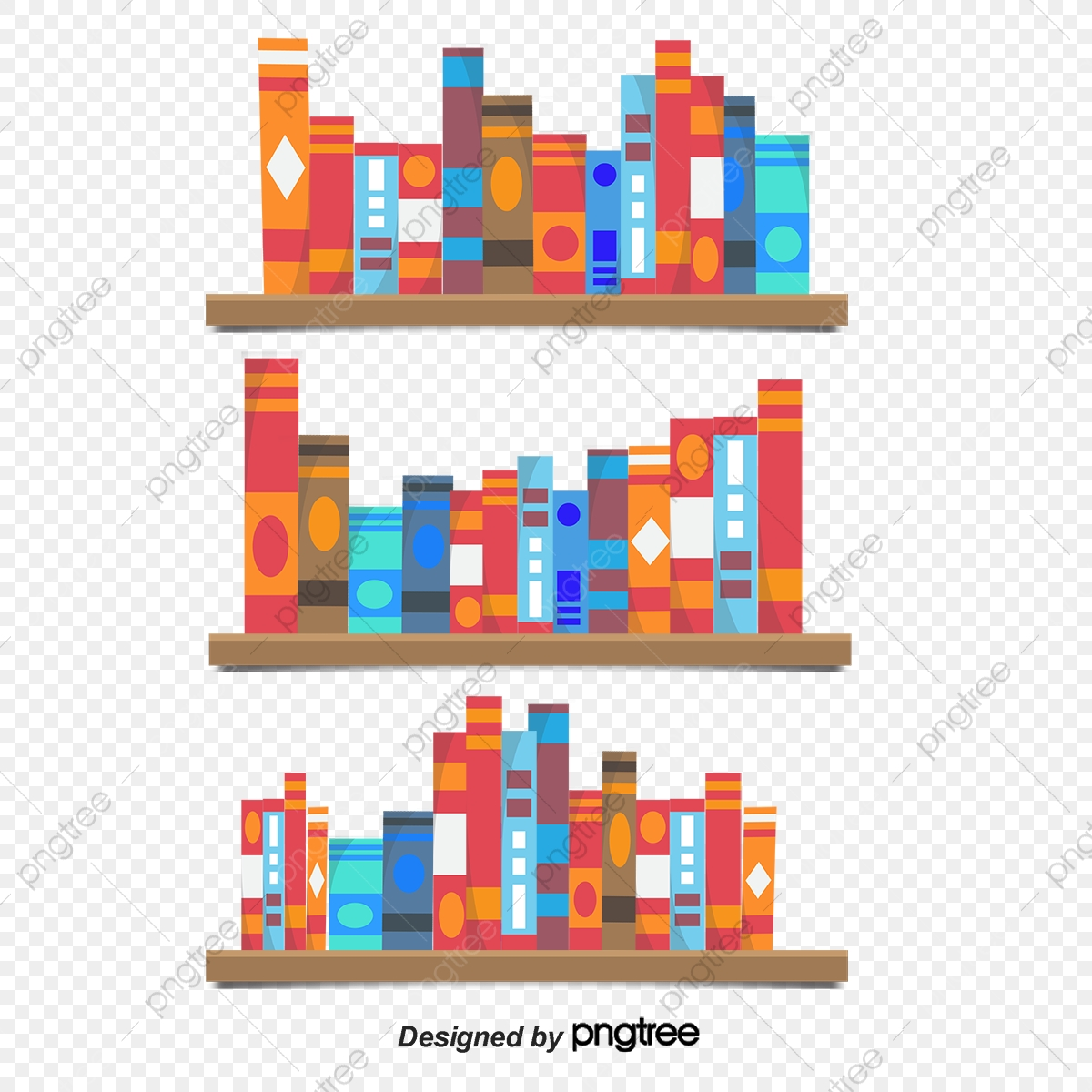 clip art freeuse download Books png and with. Bookshelf vector transparent