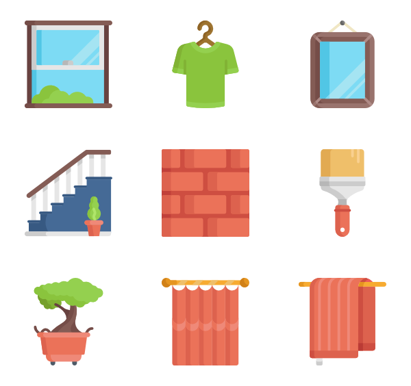 vector royalty free download Icons free homeware. Bookshelf vector