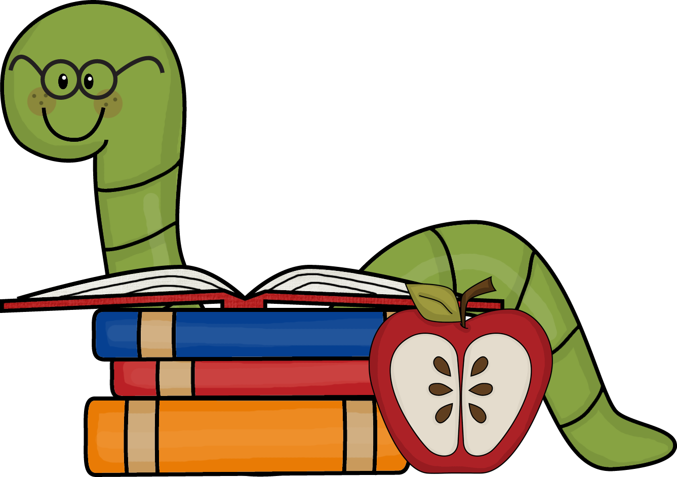 png royalty free stock Bookworm clipart animal book. Picture lessons welcome to