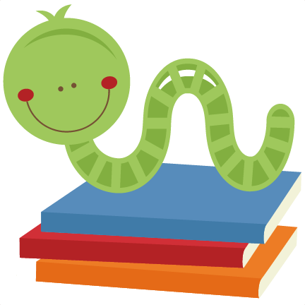 png library download Free worm png transparent. Bookworm clipart book week