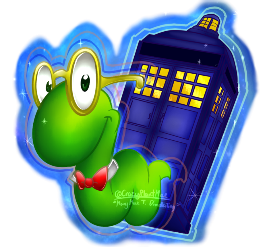 svg free stock Lexicon the th doctor. Bookworm clipart buddy