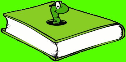 clip art transparent library Book worm clip art. Bookworm clipart buddy