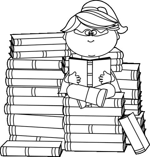 clipart library Bookworm clipart fiction book. Superhero clip art kids