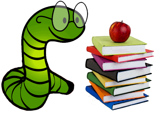 png freeuse library Bookworm clipart fiction book. I used to be