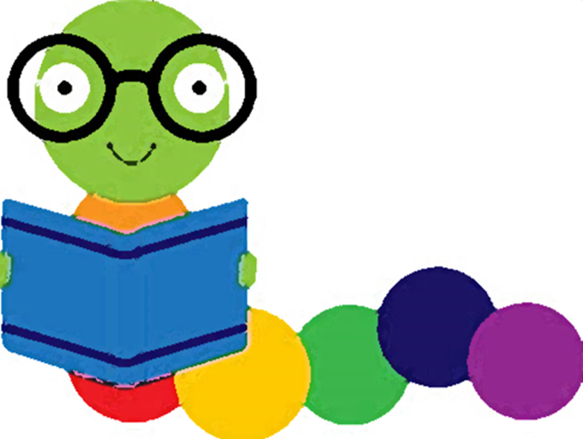 banner freeuse Bookworm clipart storytime. Buddies lackawanna county library.