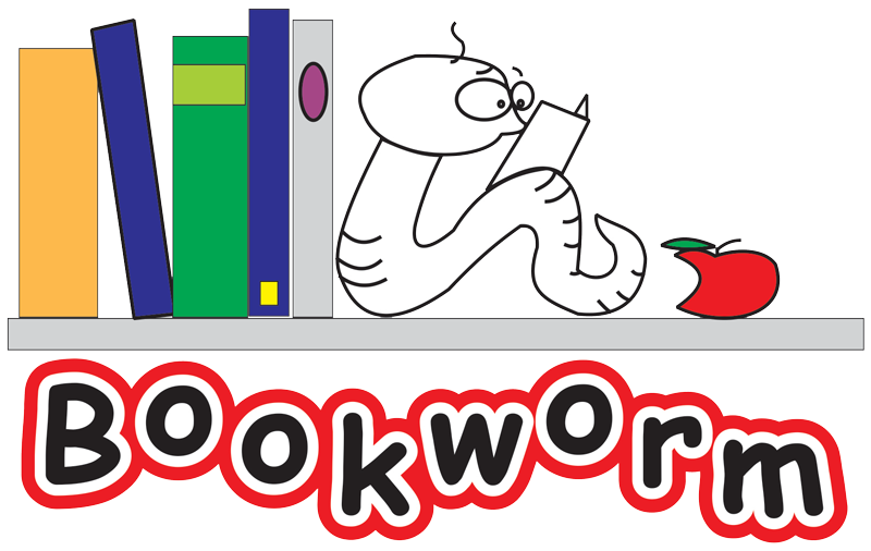 clip art download Trust a registered charitable. Bookworm clipart visitor book